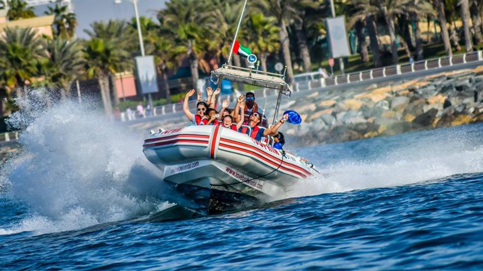 Speed Boat Tour: Dubai Marina, Burj Al Arab, The Palm,Speed boat, Boat Tours UAE,Special Offers, رحلات القوارب