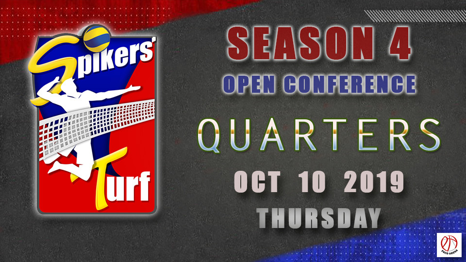 Spikers Turf Open Conference Season 4 Quarter Finals Game 2,Metro Manila