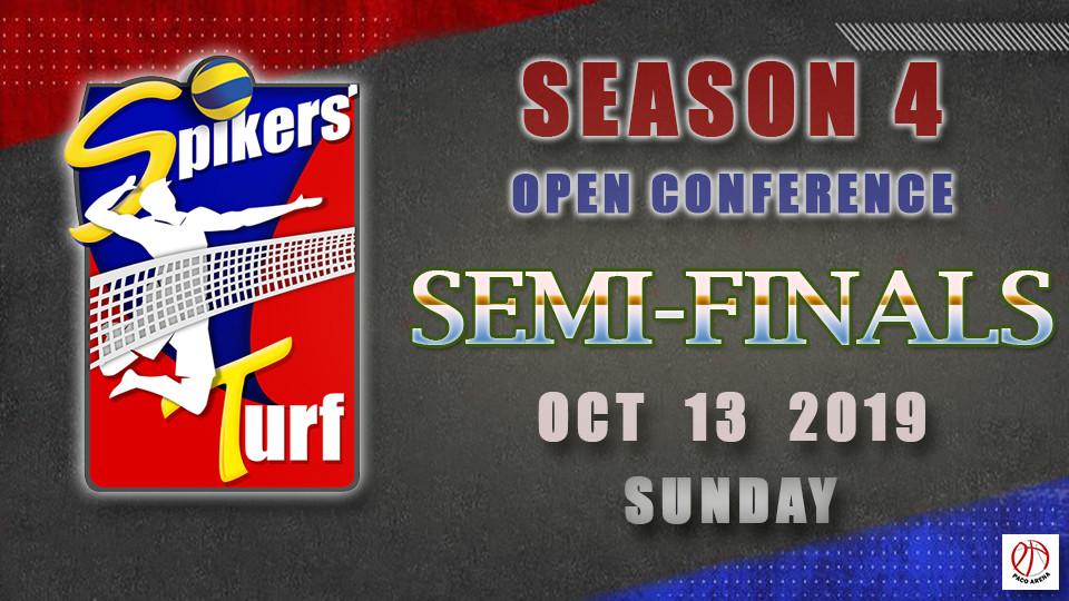 Spikers Turf Open Conference Season 4 Semi Finals Game 1, Paco Arena, الفعاليات والأنشطة الرياضية, كرة الطائرة