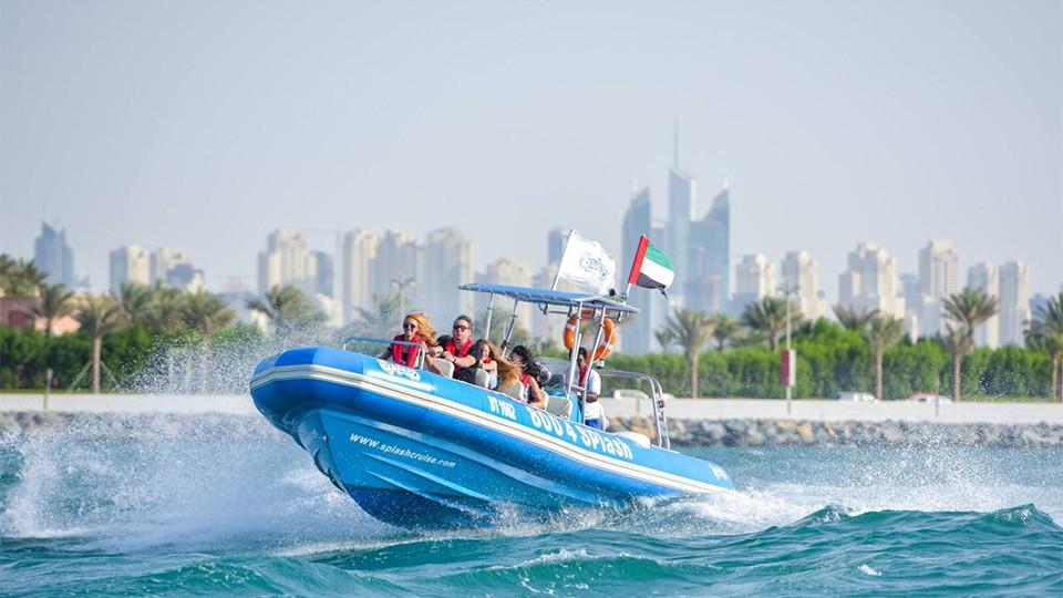 Splash Tours at Marina Dubai (90 Min),Splash tours,رحلات القوارب