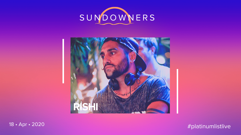 Sundowners with Rishi, Online Events