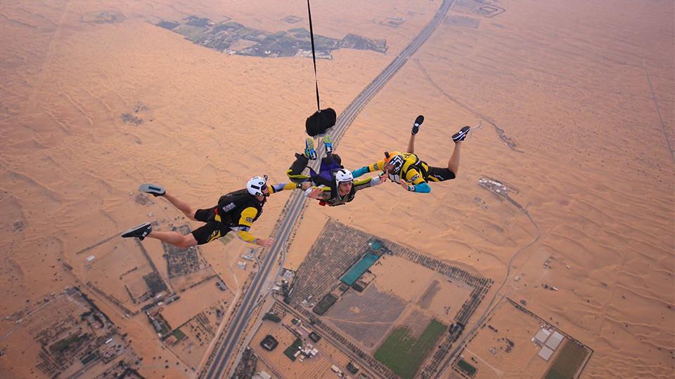 Tandem Skydive Desert Drop,Skydive Dubai Desert Dropzone,Aerial Adventures