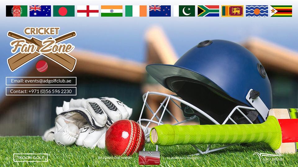 The Cricket World Championship, Abu Dhabi Golf Club - AD, Sports Events