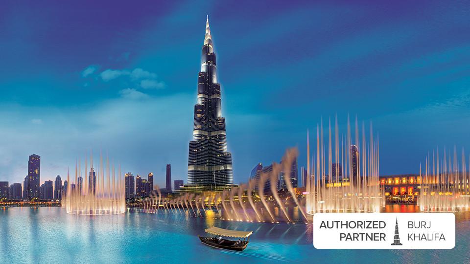 The Dubai Fountain Lake Ride,Dubai Lake Fountain Ride,Burj Khalifa