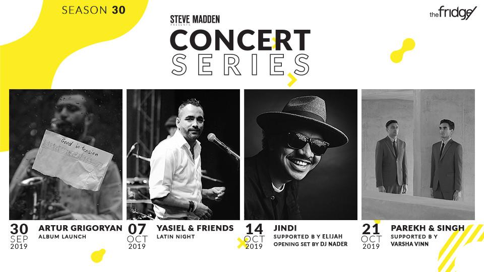 The Fridge Concert Series Season 30 Presented by Steve Madden,The Fridge,Jazz