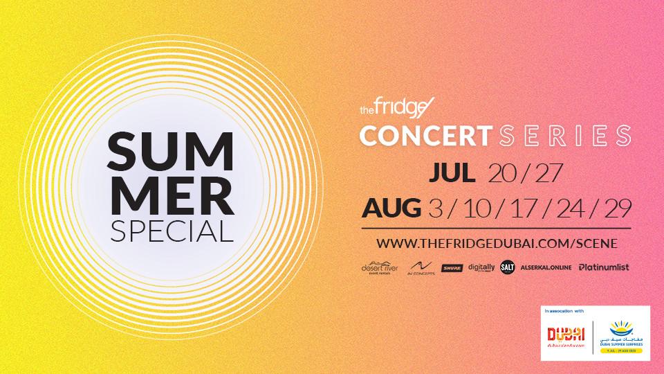 The Fridge Concert Series Summer Special, Concrete, Arserkal Avenue, Popular