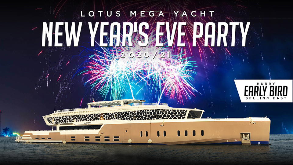 Tickets to The Lotus Mega Yacht New Year's Eve 2021 NYE - Platinumlist.net