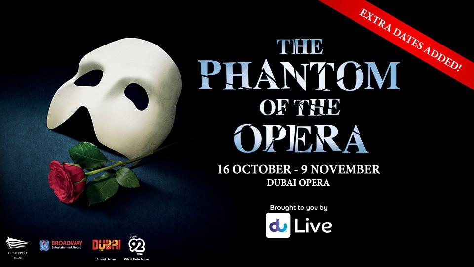 The Phantom Of The Opera At Dubai Opera,Dubai Opera,عروض, Shows