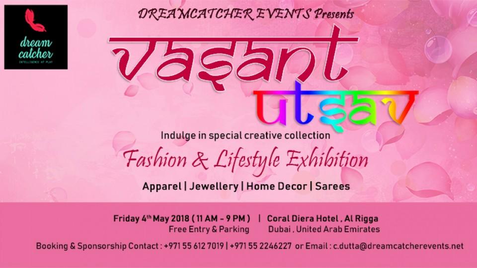 Vasant Utsav, Dubai, عالم الأزياء والموضة