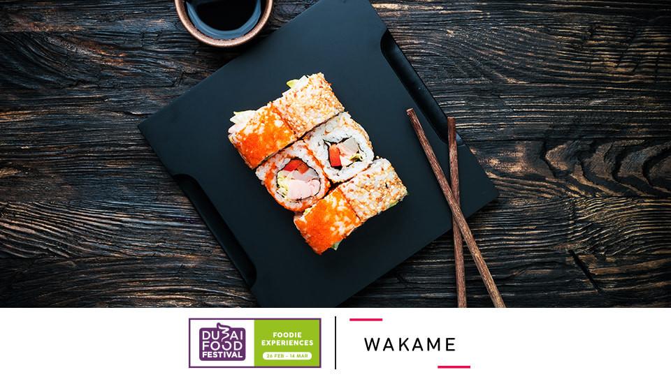 Wakame sushi masterclass,Wakame - Sofitel Downtown,Master Classes
