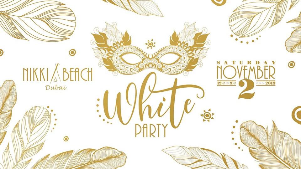 White Party - Masquerade,Dubai