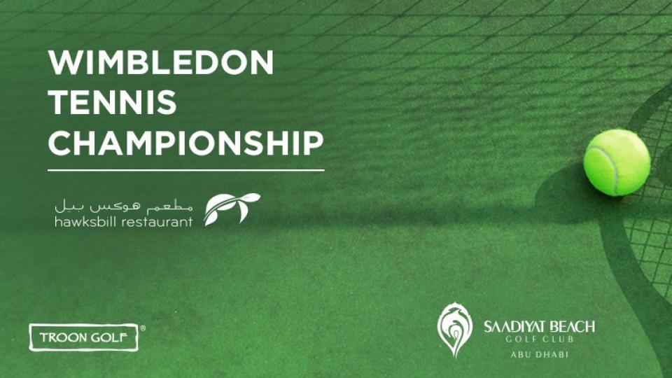 Wimbledon Tennis Championship,Abu Dhabi