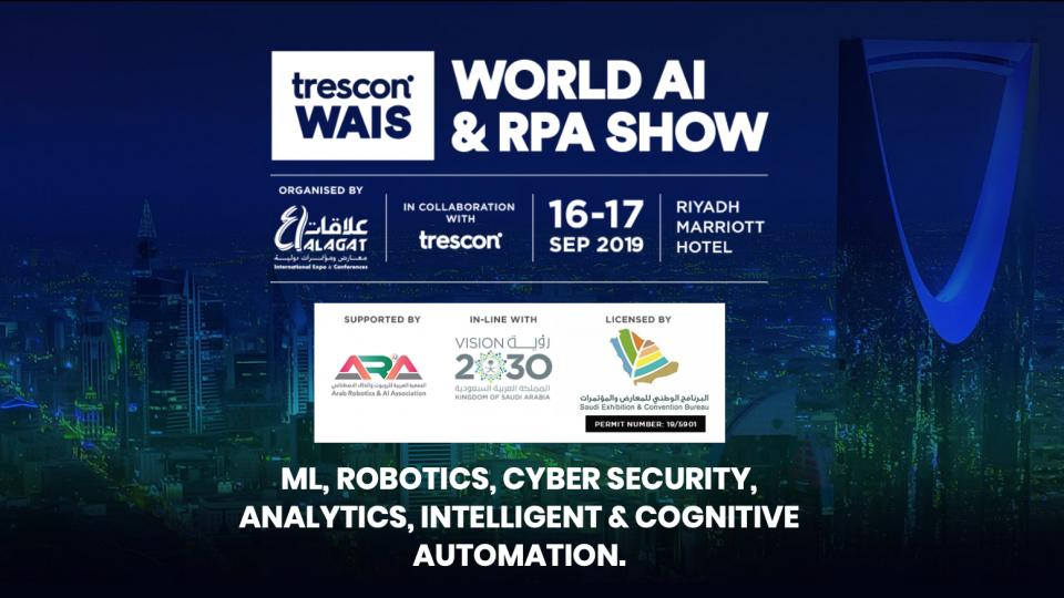World AI & RPA Show,Riyadh