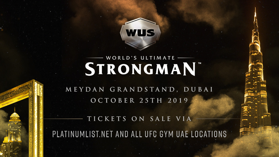World's Ultimate Strongman,The Meydan Grandstand,Sports Events