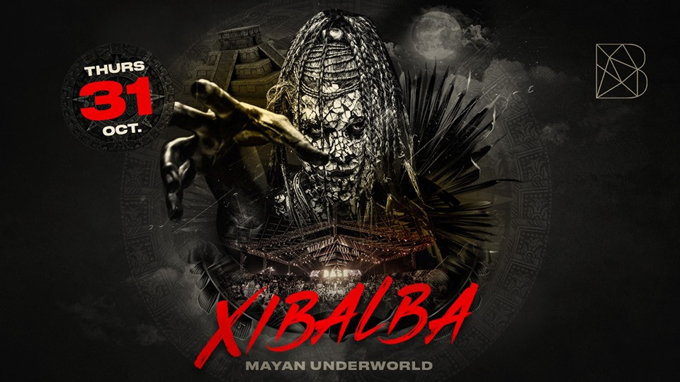 Xibalba | Halloween at BASE Dubai // Thursday 31st October,Base Dubai,Halloween