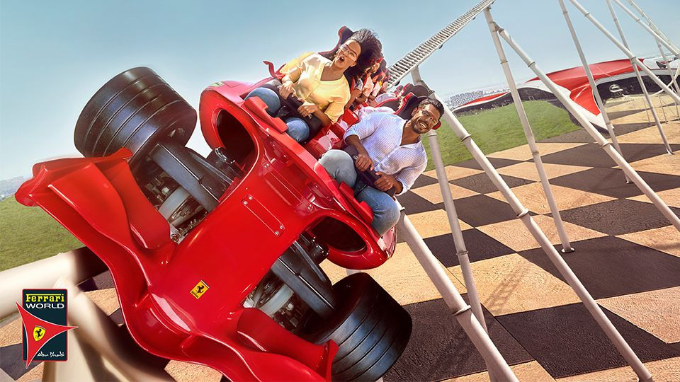 Yas Island Theme Parks – Ferrari World Abu Dhabi, Yas Waterworld, Warner Bros. World™,Yas Island Abu Dhabi,منتزه